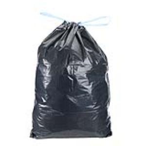 Mystbrand Carton de 200 sacs poubelle avec liens coulissants 35 microns (50 L)