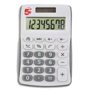 5 étoiles MD-9859A - Calculatrice de poche 8 chiffres