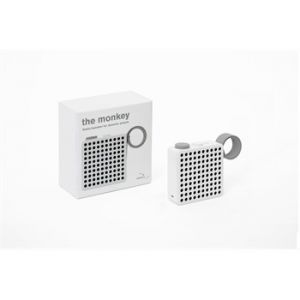Radio Enceinte Bluetooth Monkey Blanche