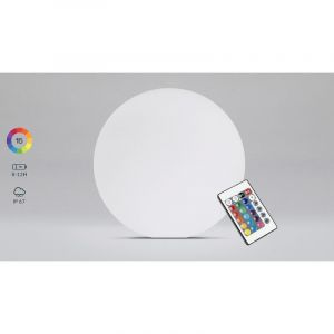 Boule LED rechargeable multicolore Ø50cm