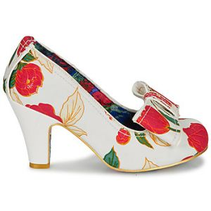 Irregular Choice Chaussures escarpins SUMMER FRECKLES - Couleur 36,38,39,40,41,42,43 - Taille Blanc