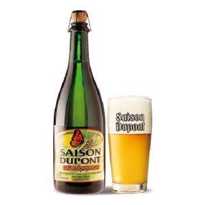 Brasserie dupont Bière Bio Saison Dupont 5.5 % vol. 25cl