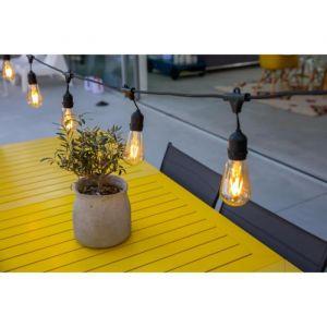 Lumisky MAFY LIGHT Guirlande décorative d'extérieur Cuivre/Verre 11 W E27 Noir 7 m