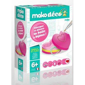Mako moulages 1 moulage en plâtre Fabrique et décore ta boite à bijoux