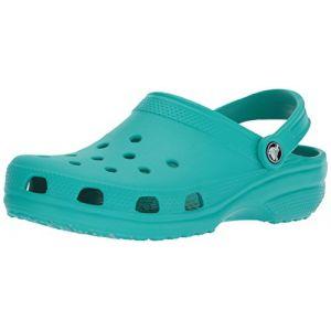 Crocs Classic, Sabots Mixte Adulte, Bleu (Tropical Teal), 37-38 EU