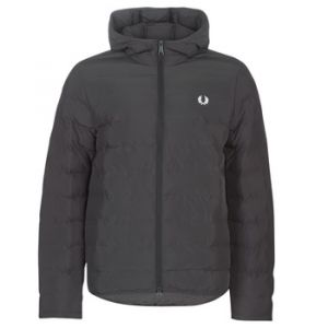 Fred Perry Doudounes INSULATED HOODED JACKET Noir - Taille XXL,S,M,L,XL
