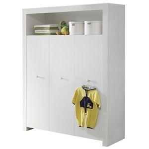 armoire 130 cm comparer 232 offres. Black Bedroom Furniture Sets. Home Design Ideas