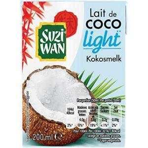 Suzi wan Lait de coco light