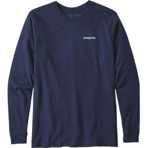 Patagonia Maillot manches longues p 6 logo responsibili classic bleu xl