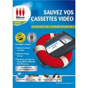 Sauvez vos Cassettes Vidéo (compatible Windows 10) [Windows]