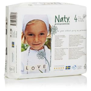 Naty Couche Naty taille 4 (7-18 kg) - paquet de 27