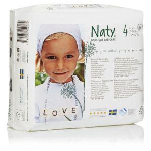 Nature Babycare Couche Naty taille 4 (7-18 kg) - paquet de 27