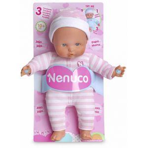 Famosa Nenuco Soft 3 fonctions (25 cm)