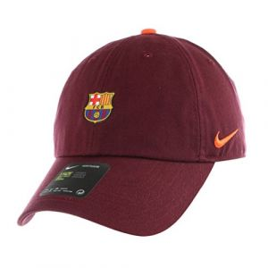 Nike Fcb U NK H86 Cap Core Casquette FC Barcelona Mixte Adulte, Bordeaux Nuit/Cramoisi Ultime/Cramoisi Ultime, FR : Taille Unique (Taille Fabricant : MISC)