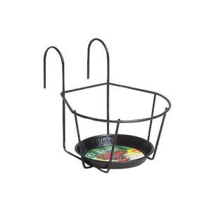 Jardifer 174N - Porte-pot à crochets en métal Ø22 cm