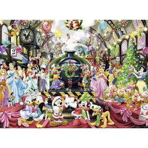Ravensburger Le train de Noël Disney - Puzzle 500 pièces
