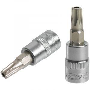 KS Tools Douille tournevis ULTIMATE® TORX® percé 1/4, L.37 mm - T40 922.1498
