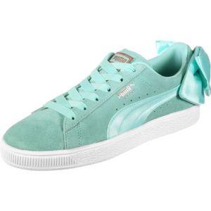 Puma Suede Bow Wn's, Sneakers Basses Femme, Bleu (Island Paradise-Island Paradise), 36 EU