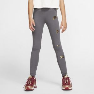Nike Legging Air pour Fille - Gris - Taille S - Female