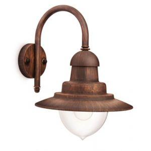 Philips 16520616 Raindrop - Lanterne murale 60W E27 bronze