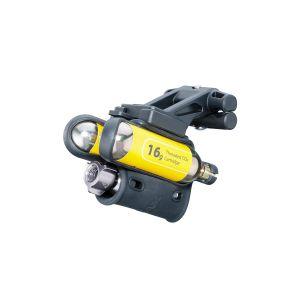 Topeak AirBooster Extreme - Mini pompe - jaune/noir Mini-pompes