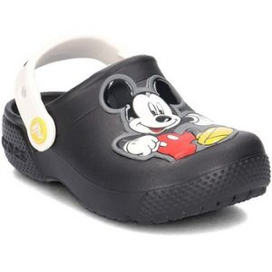 Crocs Fun Lab Mickey Clog Kids, Sabots Garçon, Noir (Black) 28/29 EU