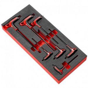 Facom Module d'outillage Clé mâle Torx en plateau mousse MODM.89TXA
