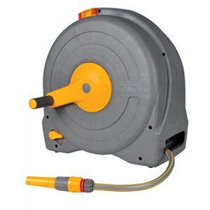 Hozelock 2494R0000 Dévidoir portable Fast Reel avec tuyau de 40 m