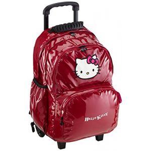 Sanrio Sac à dos à roulettes Hello Kitty 2 compartiments 45 cm