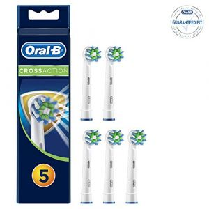 Oral-B CrossAction Brossettes anti-bactéries (x 5)