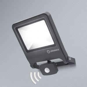 Ledvance Projecteur LED extérieur avec détecteur de mouvements 50 W 1x LED intégrée blanc chaud ENDURA FLOOD Sensor Warm White L 4058075239593 gris foncé 1
