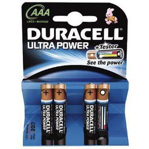Duracell Ultra Power MX1500B4 - DUR002692