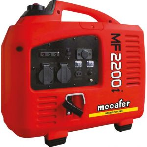 Mecafer Promo Mercure – Groupe électrogène Inverter 2200W (compact et silencieux) – MF 2200 i -