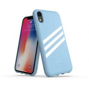 Adidas Coque Originals iPhone XR Bleu / Blanc - SUEDE FW18