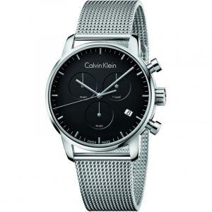 Calvin Klein Homme Chronographe Quartz Montre avec Bracelet en Acier Inoxydable K2G27121