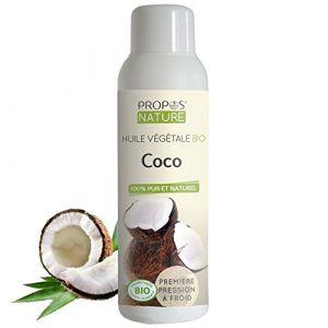 Propos'Nature Huile végétale de coco Bio 100 ml