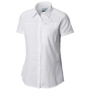 Columbia Chemises Silver Ridge 2.0 Ss - White - Taille XL