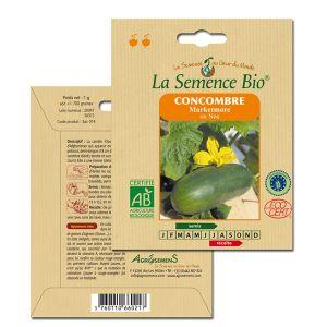 La Semence Bio Graines de Concombre bio Marketmore