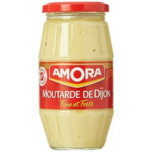 Amora Moutarde de Dijon fine et forte 440 g