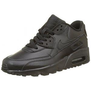 Nike Air Max 90 LTR (GS), Chaussures de Running Entrainement Garçon, Noir, 37.5 EU