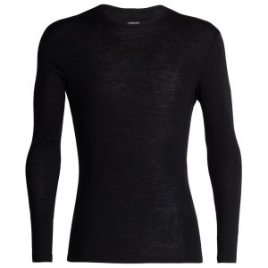 Icebreaker 175 Everyday L/S Crewe - Sous-vêtement mérinos taille XL, noir