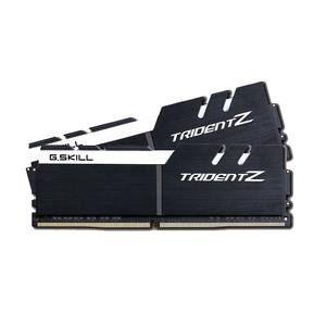 Image de G.Skill F4-3600C17D-32GTZKW - Trident Z 32 Go (2x 16 Go) DDR4 3600 MHz CL17