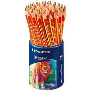 Staedtler 1274-KP50 - Pot de 50 crayons de couleurs Jumbo assortis