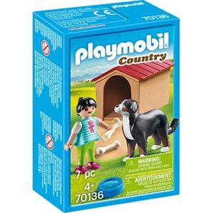 Playmobil 70136 - Enfant Avec Chien
