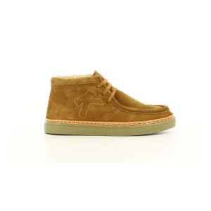 Kickers Stolla, Sneakers Haute Femme, Camel, 38