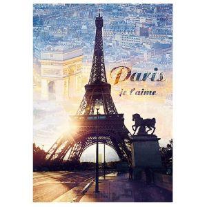 Trefl Paris, Je T'aime - Puzzle 1000 pièces