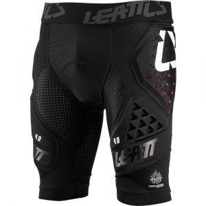 Leatt Le Shorts Impact 3DF 4.0 Vous Offre Une Protection Haut de Gamme avec Un Rembourrage siège Double densité Mixte Adulte, Noir, S