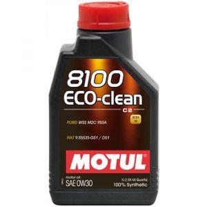 Motul Huile moteur 8100 ECO CLEAN C2 0W30 Essence et Diesel 1 L