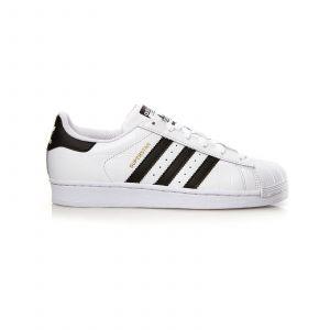 Adidas Originals Superstar - Baskets cuir bi-matière - bicolore