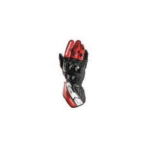 Spidi Carbo Track (rouge) - Gants moto racing en cuir pour homme